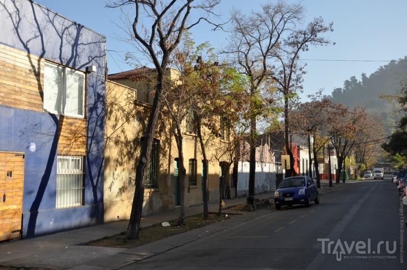 В районе Беллависта в Сантьяго, Чили / Фото из Чили
