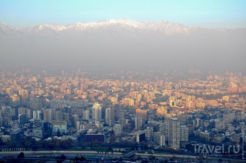 Сантьяго. Серро-Сан-Кристобаль / Фото из Чили