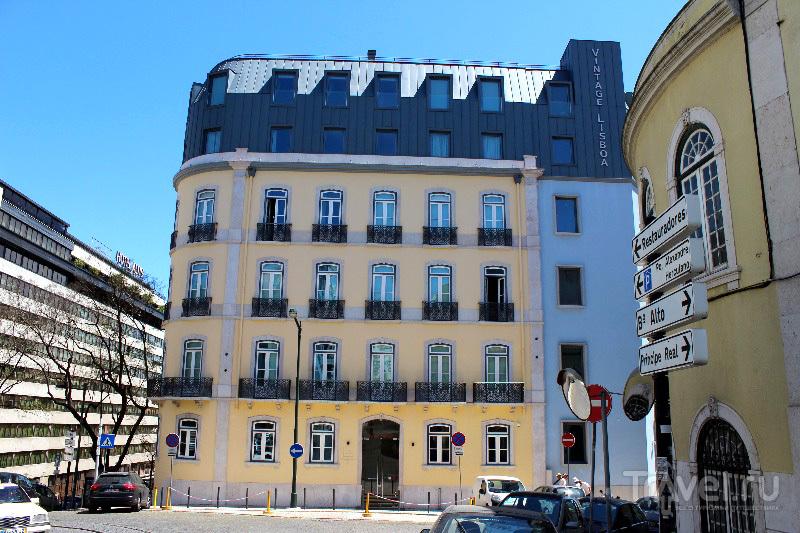 CS Vintage Lisboa Hotel в Лиссабоне, Португалия / Фото из Португалии