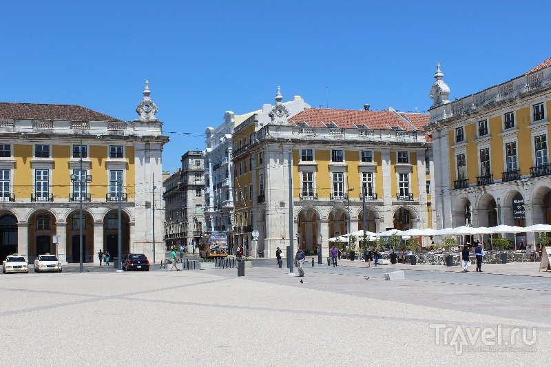 Praca do Comercio в Лиссабоне, Португалия / Фото из Португалии