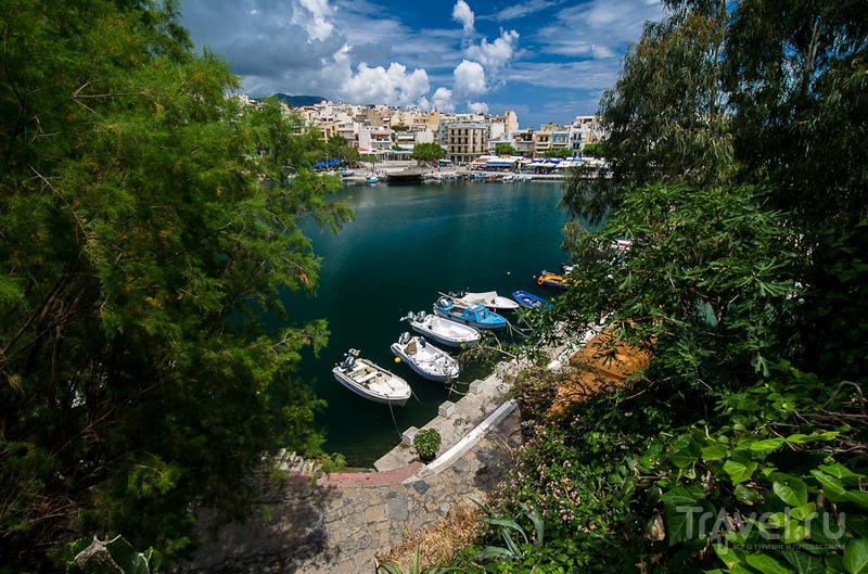 Озеро Вулисмени в Агиос-Николаосе, Греция / Фото из Греции