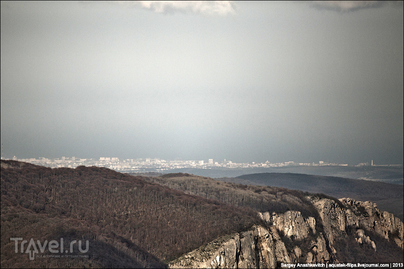 Севастополь с плато Ай-Петри, Украина / Фото с Украины