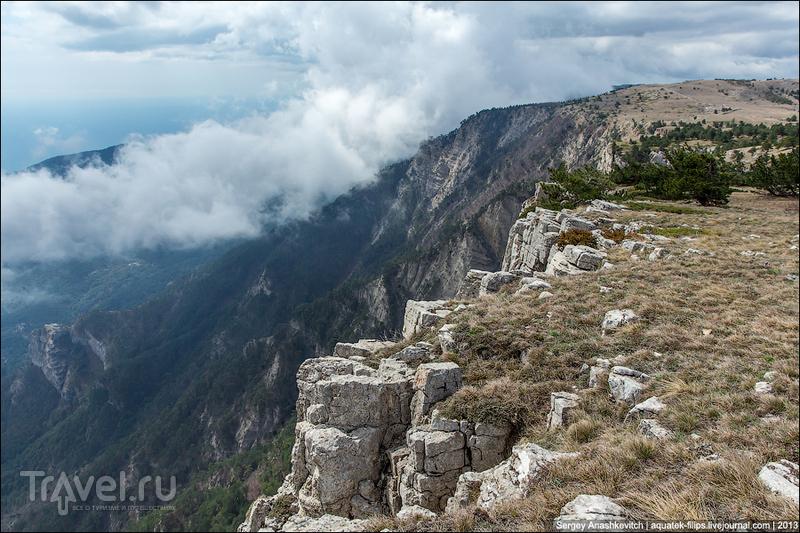 Прогулка под облаками. Плато Ай-Петри в Крыму / Фото с Украины