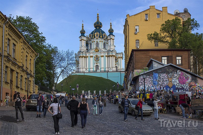 Андреевский спуск в Киеве, Украина / Фото с Украины