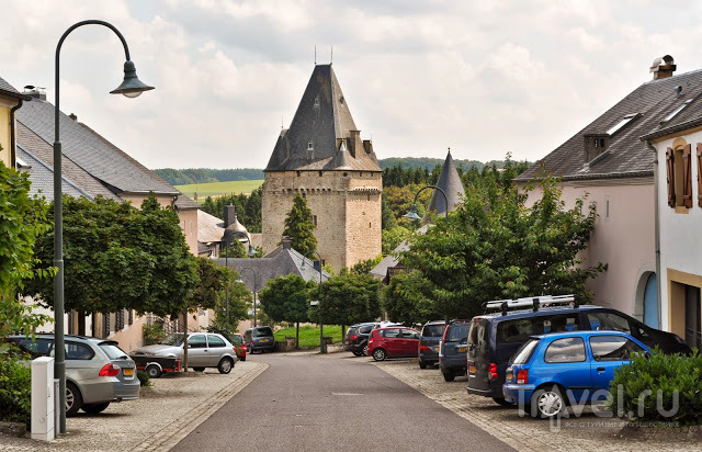 Замок Hollenfels , Люксембург / Фото из Люксембурга