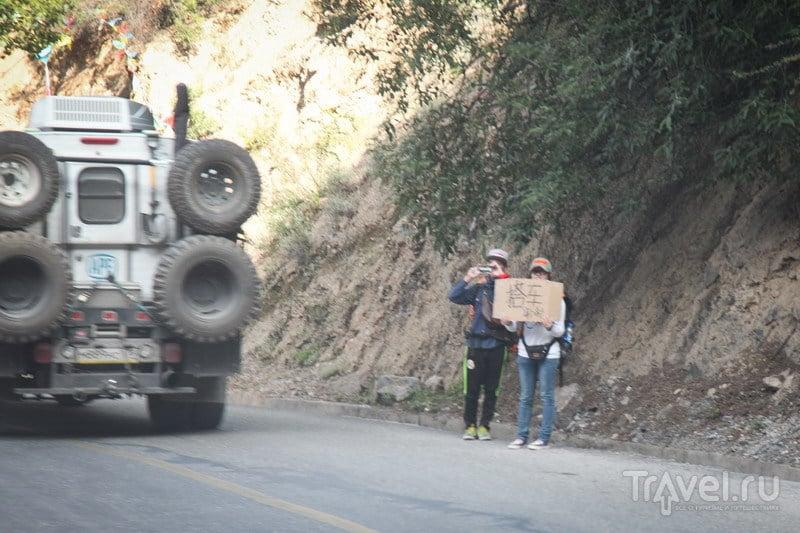 На внедорожниках в Тибет. Въезжаем в Тибет / Китай