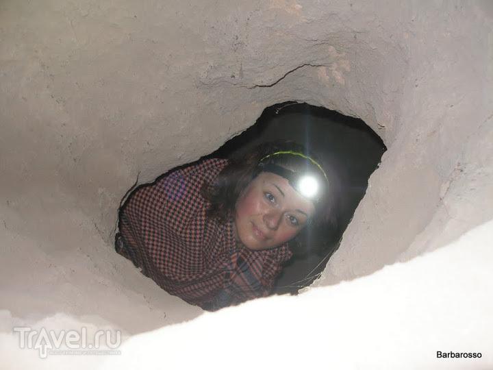 Каппадокия. Подземный город Мазы! / Турция