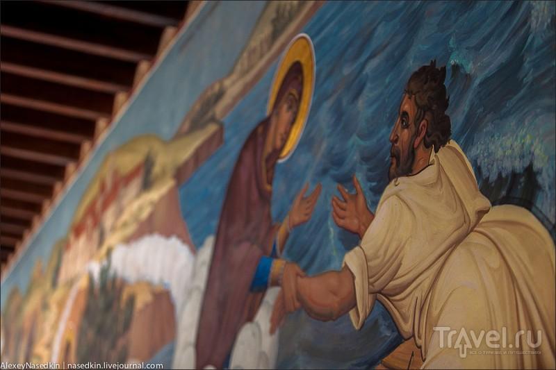 В монастыре Киккос, Кипр / Фото с Кипра