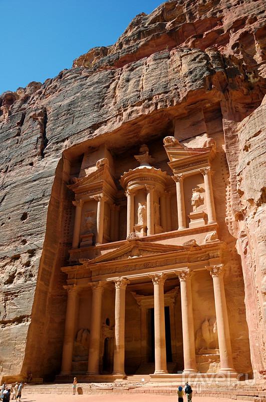 Петра, Иордания / Фото из Иордании