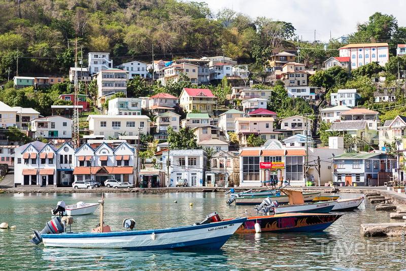 В городе Сент-Джорджес, Гренада / Фото из Гренады