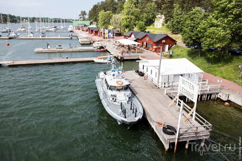 Западная набережная (Sjöpromenden)  в Марианхамине, Аландские острова, Финляндия / Фото из Финляндии