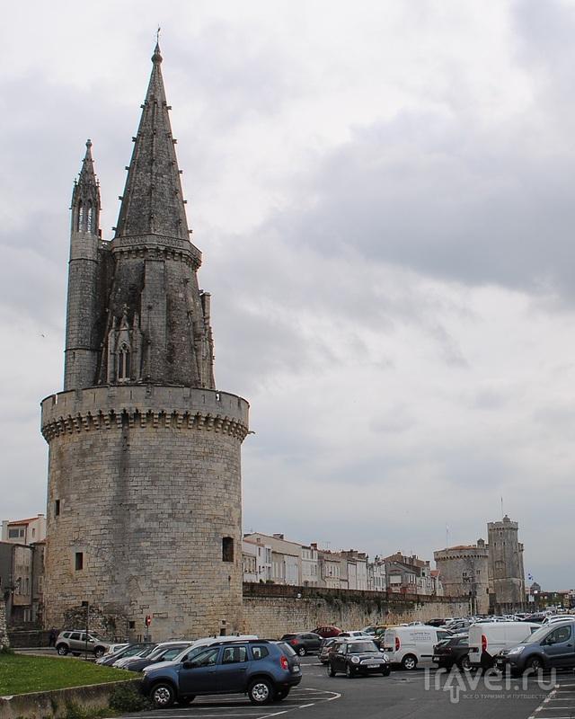 Фонарная башня в Ла-Рошеле, Франция / Фото из Франции
