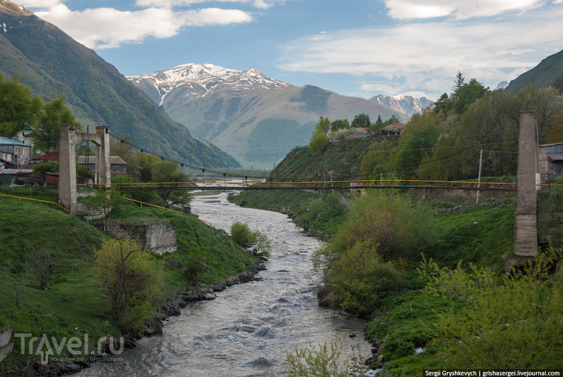 Река Чхери, Грузия / Фото из Грузии