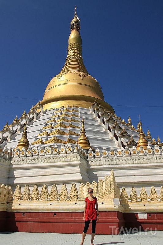 Пагода Mahazedi в Баго, Мьянма / Фото из Мьянмы