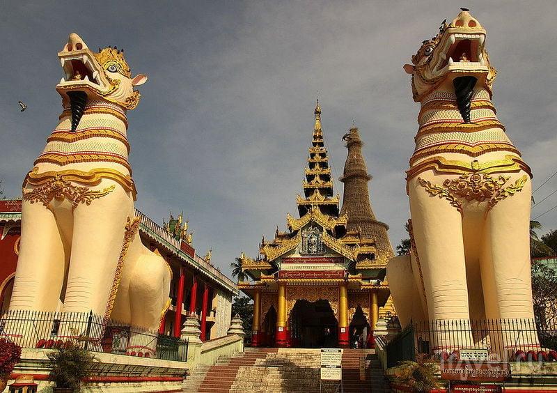 Пагода Swemawdaw в Баго, Мьянма / Фото из Мьянмы
