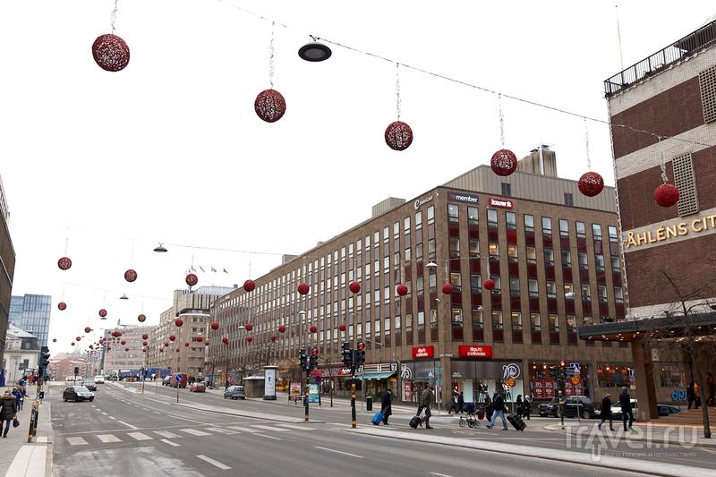 На велосипеде по Стокгольму / Швеция