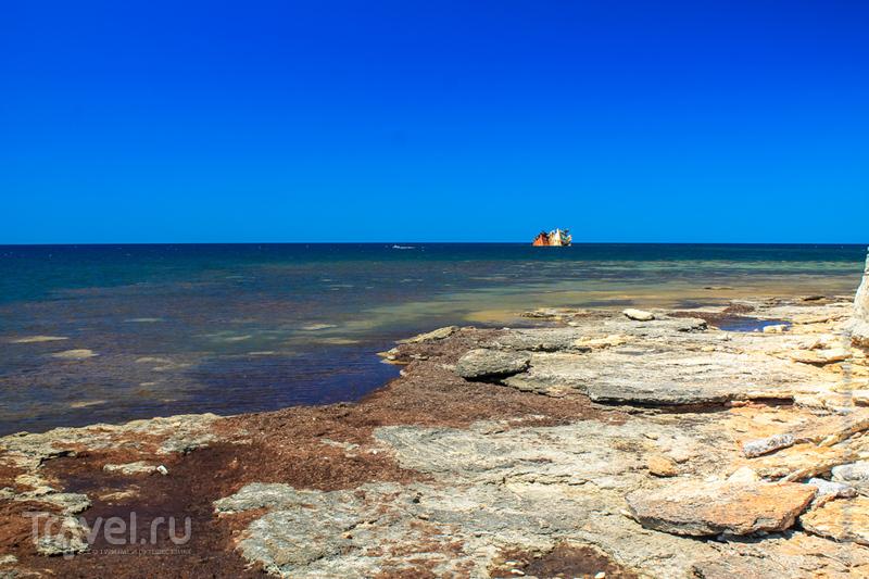 На краю мыса Тарханкут на полуострове Крым, Украина / Фото с Украины