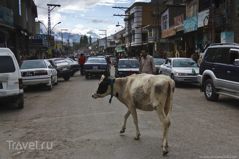 В городе Скарду, Пакистан / Фото из Пакистана