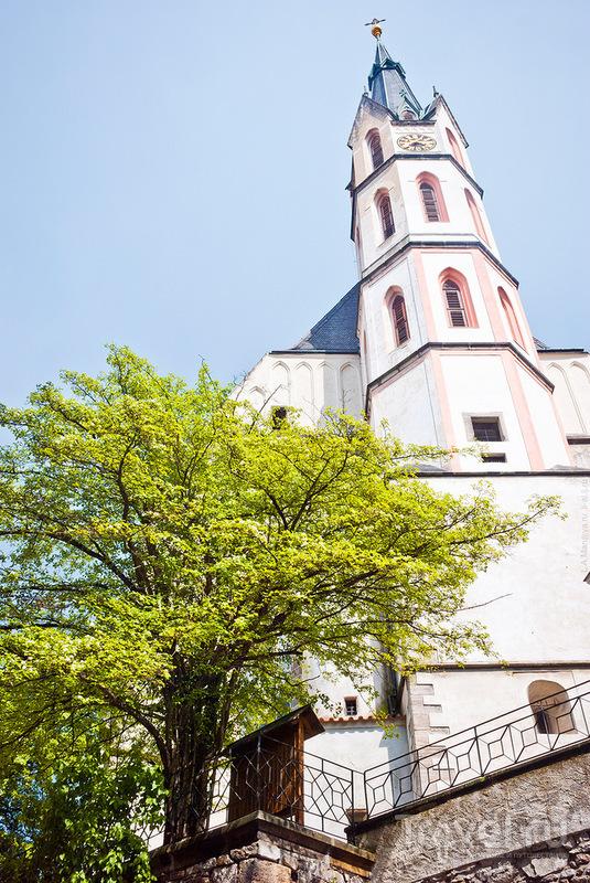 Церковь Святого Витта в Чески-Крумлове, Чехия / Фото из Чехии