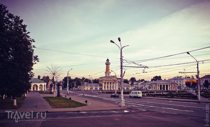 Сусанинская площадь в Костроме, Россия / Фото из России