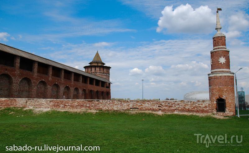 Маринкина, или Коломенская, башня в Коломне, Россия / Фото из России