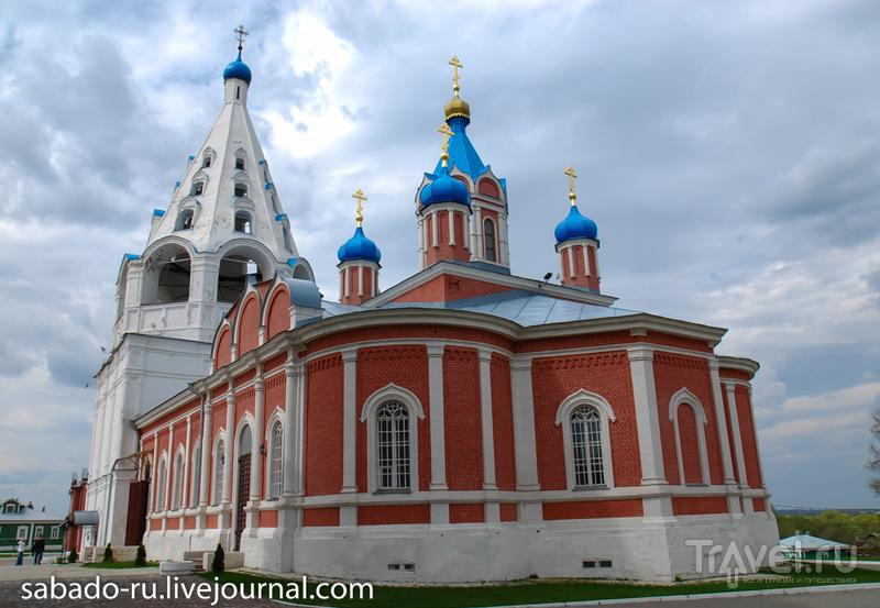 Тихвинская церковь в Коломне, Россия / Фото из России