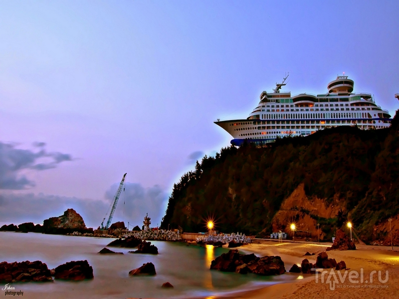 Отель Sun Cruise Resort устроен в бывшем круизном лайнере, Южная Корея / Южная Корея