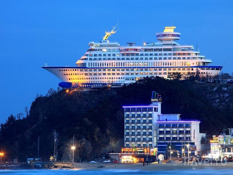 Отель Sun Cruise Resort - едва ли не лучший вариант отдыха для поклонников морских прогулок / Южная Корея