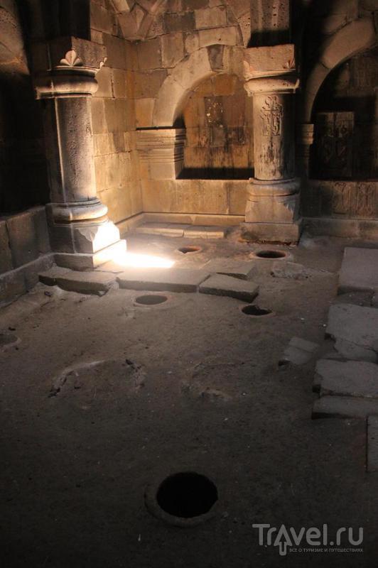 Ночевка в халкидонитском монастыре, Ахпат и дорога в Грузию / Армения