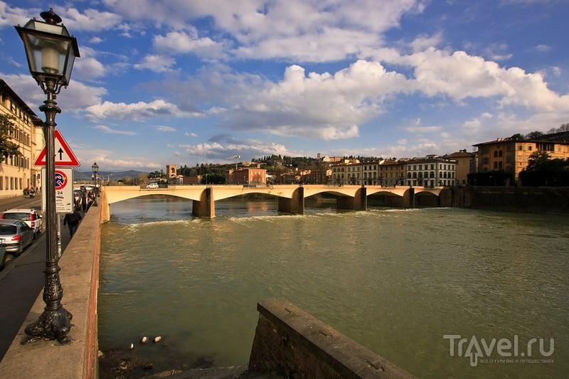 Река Арно во Флоренции, Италия / Фото из Италии