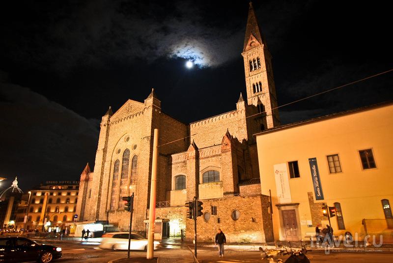 Собор Санта-Мария-Новелла во Флоренции, Италия / Фото из Италии
