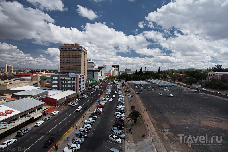 Independence Avenue в Виндхуке, Намибия / Фото из Намибии