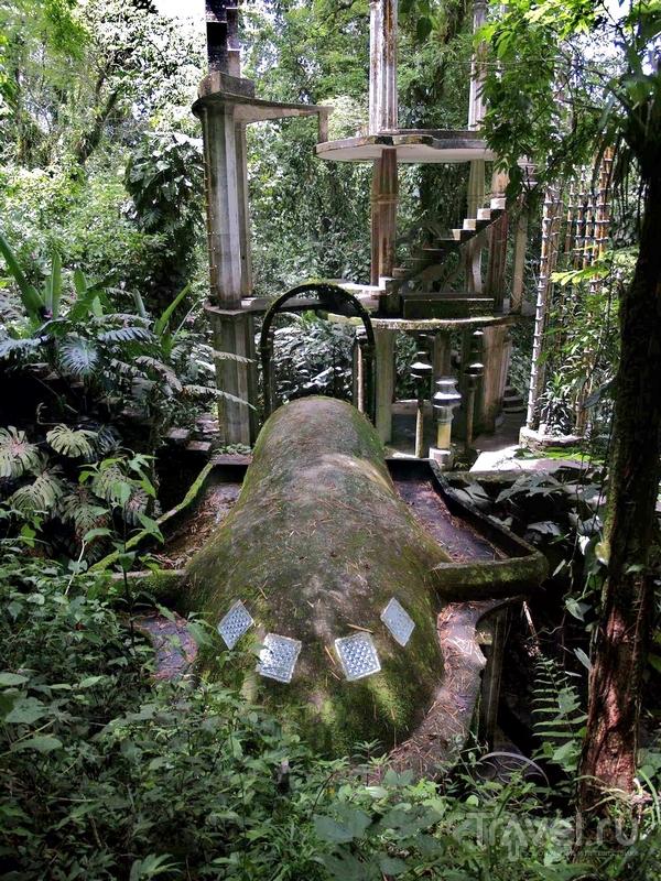 Парк Las Pozas был возведен в 60-70-х годах прошлого столетия, Мексика / Мексика