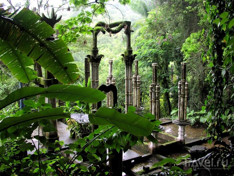 Вход в парк Las Pozas открыт ежедневно с девяти утра до заката / Мексика