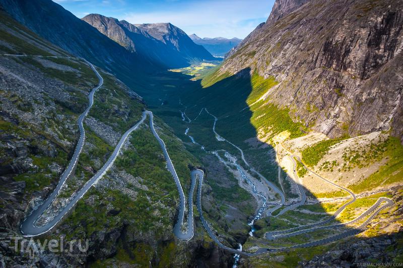 Дорога Тролльстиген, Норвегия / Фото из Норвегии