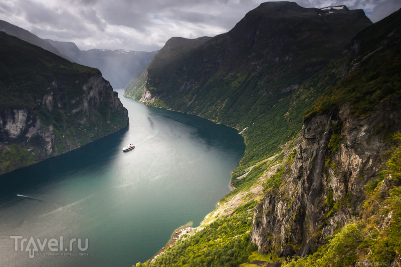 Фьорд Гейрангер, Норвегия / Фото из Норвегии