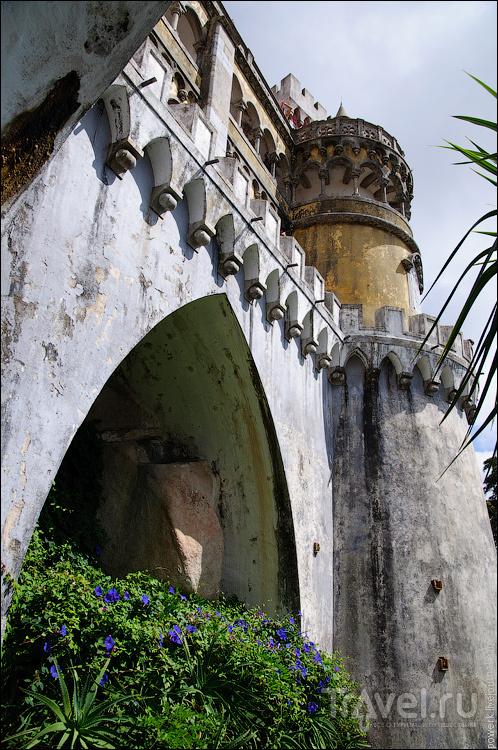 Синтра - дворец Пена / Фото из Португалии