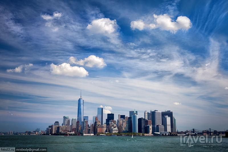 Манхэттен в Нью-Йорке, США / Фото из США