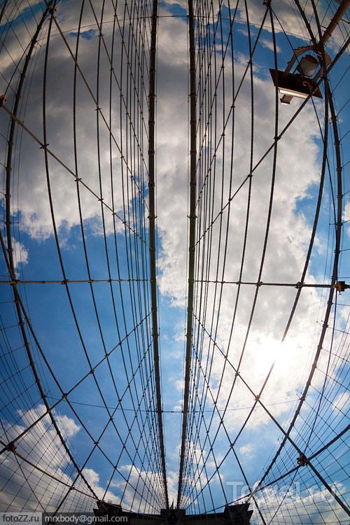 Бруклинский мост в Нью-Йорке, США / Фото из США