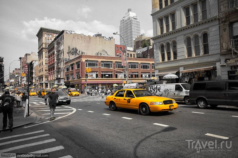 На Бродвее в Нью-Йорке, США / Фото из США