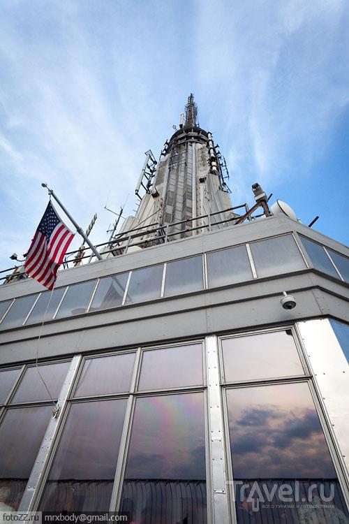 Эмпайр-стэйт-билдинг в Нью-Йорке, США / Фото из США