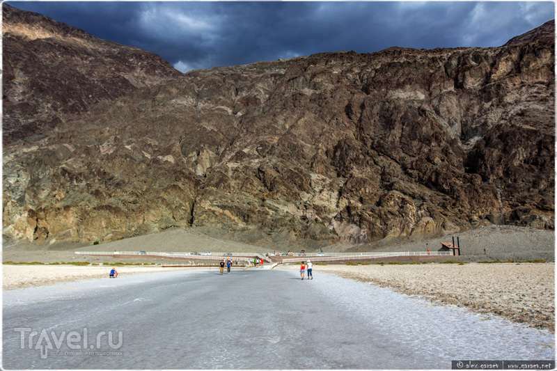 Badwater Basin в Долине Смерти, США / Фото из США