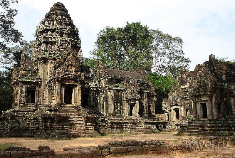 Храм Тхомманон, Камбоджа / Фото из Камбоджи