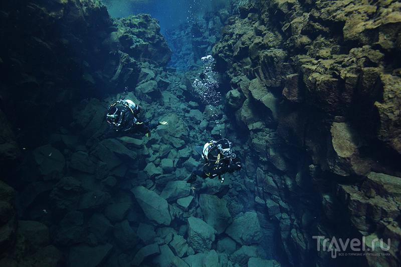 Ущелье Силфра, Исландия / Фото из Исландии