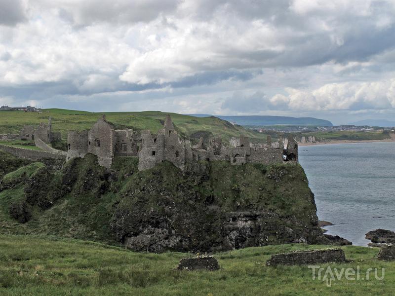 Dunluce Castle в Северной Ирландии, Великобритания / Фото из Великобритании