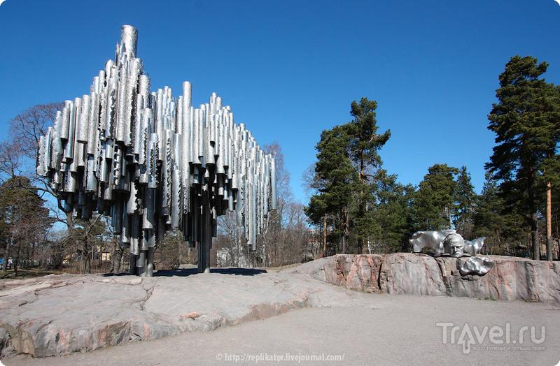 Памятник Яну Сибелиусу в Хельсинки, Финляндия / Фото из Финляндии