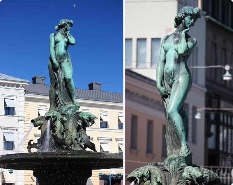 Хельсинки весной / Фото из Финляндии