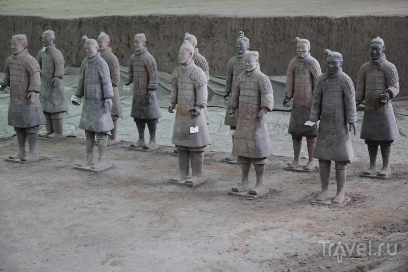 Китай, Сиань, терракотовая армия