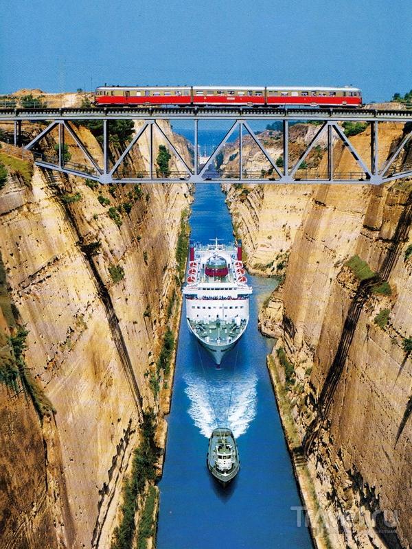 Восьмидневные круизы с заходом в Коринфский канал отправляются из порта Пирей - Афины / Греция