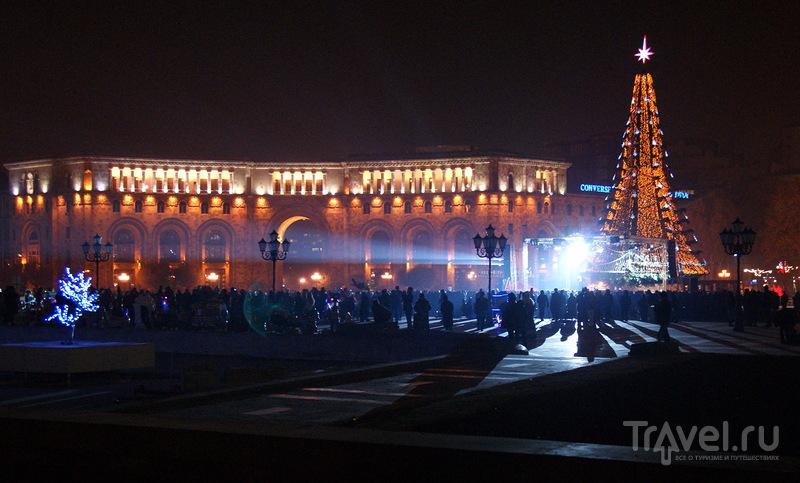 Новогодняя ночь в Ереване / Армения